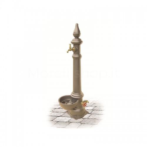 Fontana da giardino in ghisa Mod. MONACHELLA SMART BEIGE Morelli - Arredo esterno