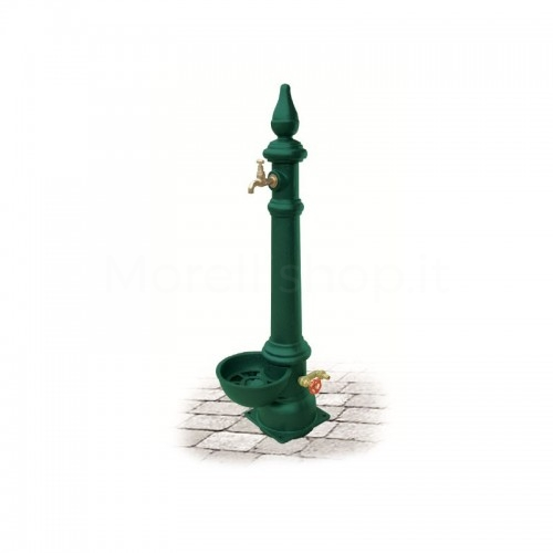 Fontana da giardino in ghisa Mod. MONACHELLA SMART GREEN Morelli - Arredo esterno