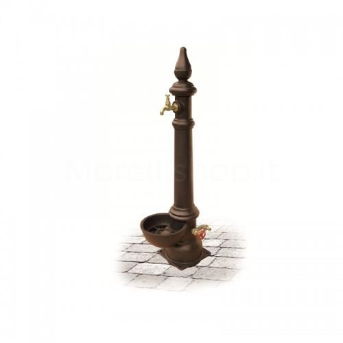 Fontana da giardino in ghisa Mod. MONACHELLA SMART BROWN Morelli - Arredo esterno