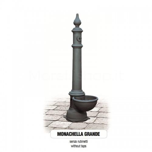 Fontana da giardino in ghisa Mod. SOLO CORPO MONACHELLA GRANDE - PERSONALIZZABILE Morelli - Arredo esterno