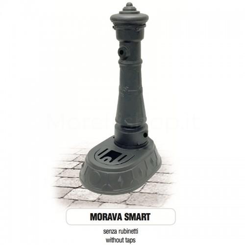 Fontana da giardino in ghisa Mod. SOLO CORPO MORAVA SMART Morelli - Arredo esterno