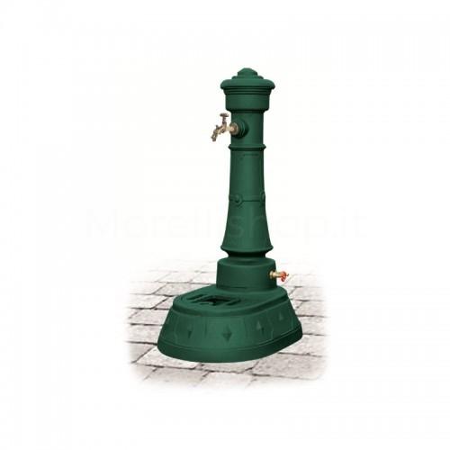 Fontana da giardino in ghisa Mod. MORAVA GRANDE GREEN Morelli - Arredo esterno