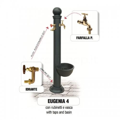 Fontana da giardino in ghisa e ferro Mod. EUGENIA 4 Morelli - Arredo esterno