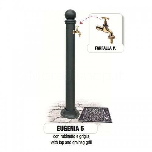 Fontana da giardino in ghisa e ferro Mod. EUGENIA 6 Morelli - Arredo esterno