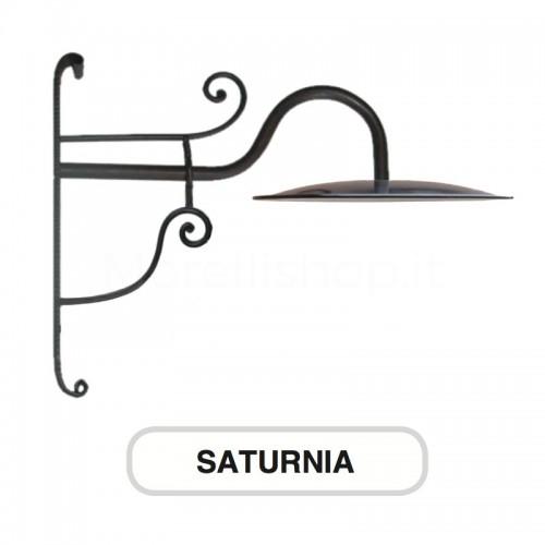 Lampione Mod. SATURNIA ferro battuto Morelli - Arredo giardino