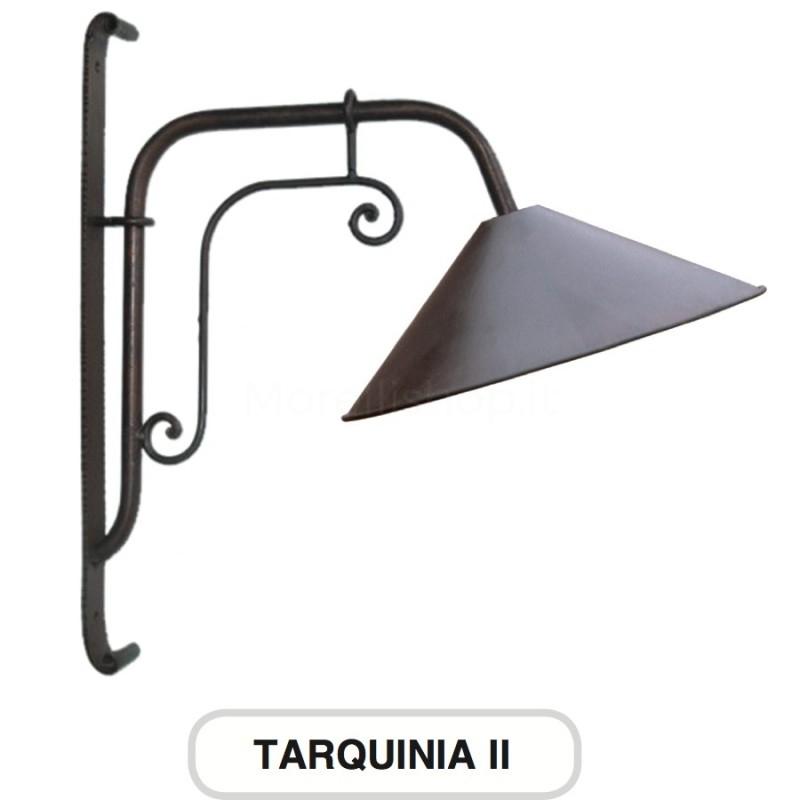 Lampione mod tarquinia 2 ferro battuto morelli arredo for Arredo giardino ferro battuto