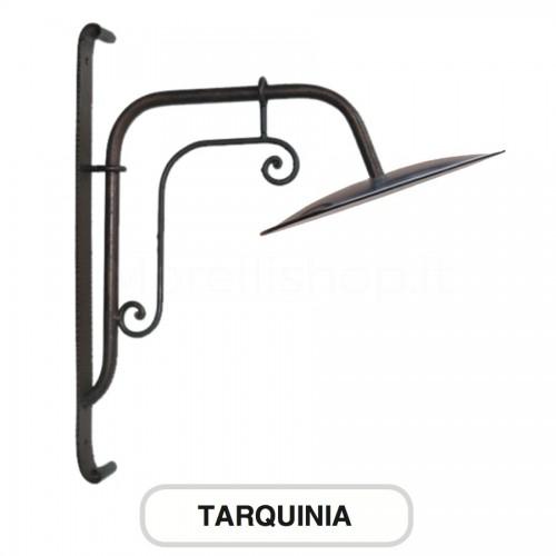 Lampione Mod. TARQUINIA ferro battuto Morelli - Arredo giardino