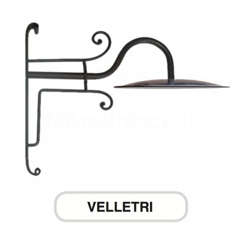 Lampione Mod. VELLETRI ferro battuto Morelli - Arredo giardino