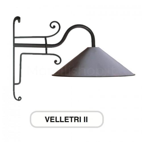 Lampione Mod. VELLETRI 2 ferro battuto Morelli - Arredo giardino