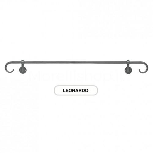 Corrimano estensibile in ferro battuto 162cm Morelli Mod. LEONARDO162