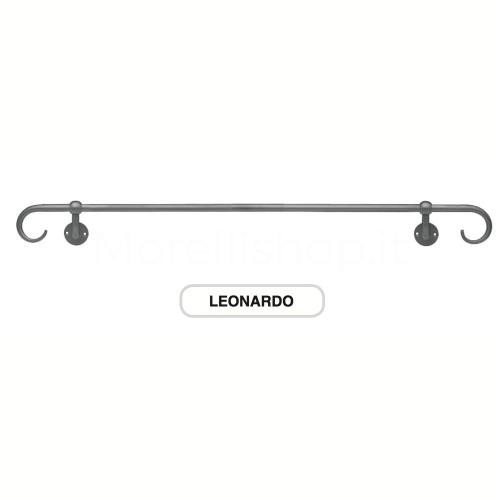 Corrimano estensibile in ferro battuto 212cm Morelli Mod. LEONARDO212