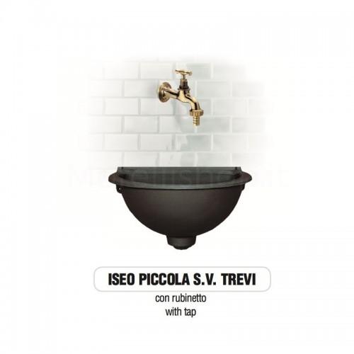 Fontana a muro in ghisa Mod. ISEO PICCOLA SV TREVI Morelli - Arredo esterno