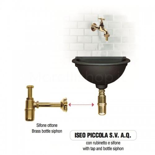 Fontana a muro in ghisa Mod. ISEO PICCOLA SV AQ Morelli -...