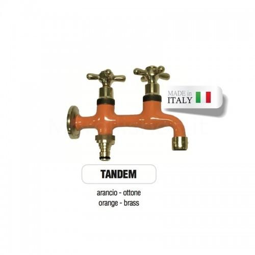 Servizio di verniciatura colore ARANCIONE RAL 2011 per rubinetti in ottone Morelli