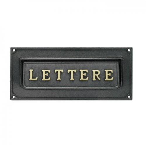 Asola antracite Mod. LT/A Morelli per cassetta postale