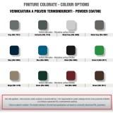 Servizio di verniciatura colore GRIGIO RAL 9007 per rubinetti in ottone Cromato Morelli