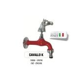 Servizio di verniciatura colore ROSSO RAL 3002 per rubinetti in ottone Cromato Morelli