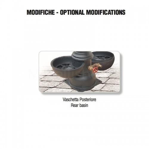 Installazione seconda vasca posteriore - Monachella Grande