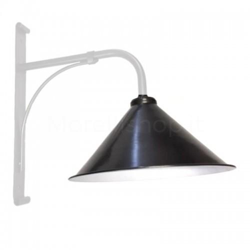 Cappello lume CONO 2 per Lampione Morelli Serie Ferro Battuto