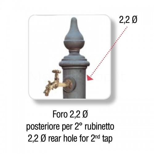 Foratura fusto per aggiunta secondo rubinetto - fontane...