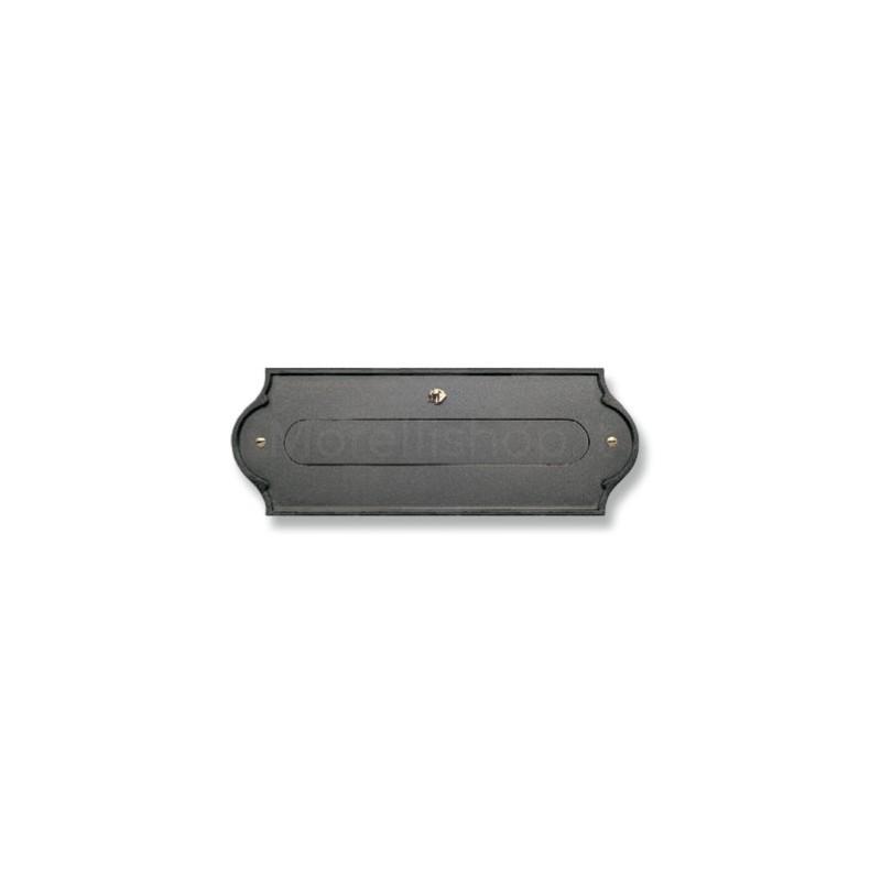 Asola antracite Mod. PLMAP/A Morelli per cassetta postale