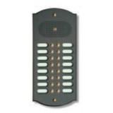 Citofono campanello 16 NOMI Mod. 16PLMORO/A ottone antracite Alta Qualità Morelli