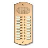 Citofono campanello 18 NOMI Mod. 18PLMORO/CPT ottone Alta Qualità Morelli