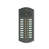 Citofono campanello 18 NOMI Mod. 18PLMORO/A ottone antracite  Alta Qualità Morelli