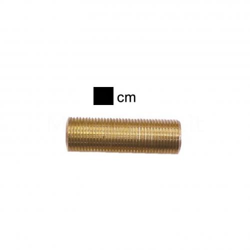 """Prolunga filettata in ottone misura 3/8""""M - 4 cm - Morelli"""
