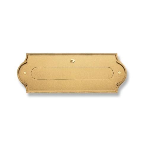 Asola ottone Mod. PLMAP/O Morelli per cassetta postale