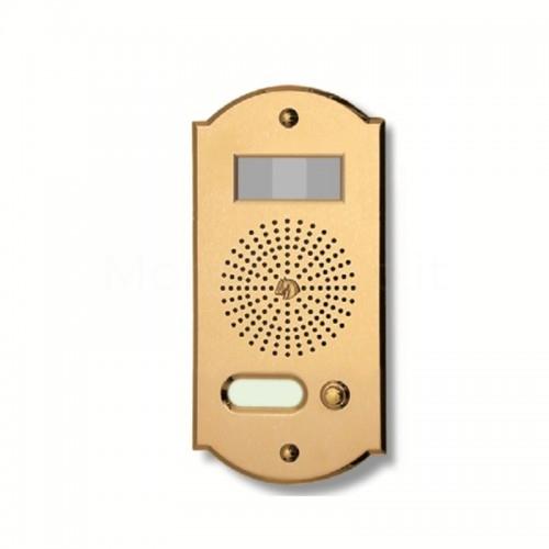 Videocitofono campanello 1 NOME ottone  Alta Qualità Morelli