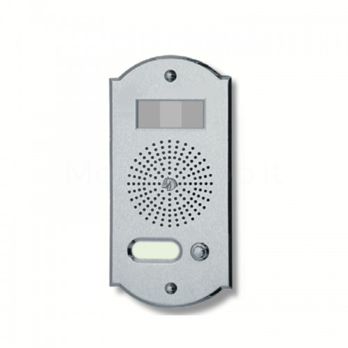 Videocitofono campanello 1 NOME ottone cromosatinato Alta Qualità Morelli
