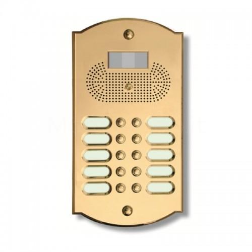 Videocitofono campanello 10 NOMI ottone  Alta Qualità  Morelli