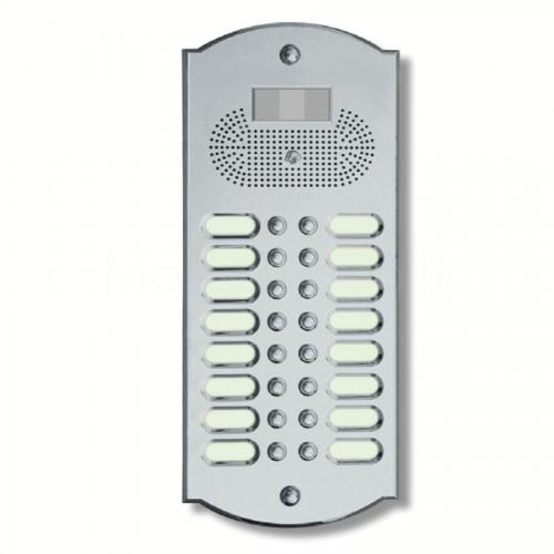 Videocitofono campanello 16 NOMI ottone cromosatinato Alta Qualità Morelli