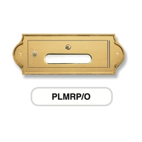 Sportello ottone Mod. PLMRP/O Morelli ritiro posta per cassetta postale