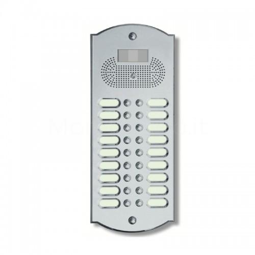 Videocitofono campanello 18 NOMI ottone cromosatinato Alta Qualità Morelli