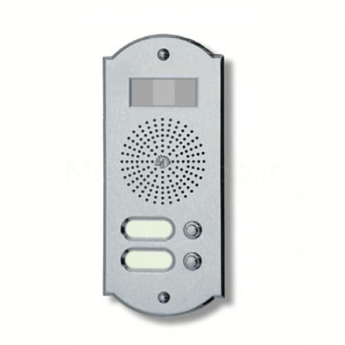 Videocitofono campanello 2 NOMI ottone cromosatinato Alta Qualità Morelli