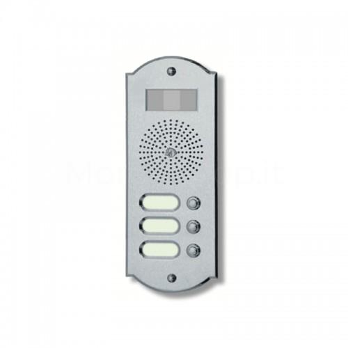 Videocitofono campanello 3 NOMI ottone cromosatinato Alta Qualità Morelli