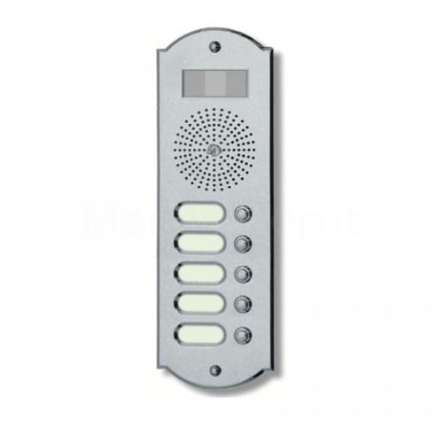 Videocitofono campanello 5 NOMI ottone cromosatinato Alta Qualità Morelli