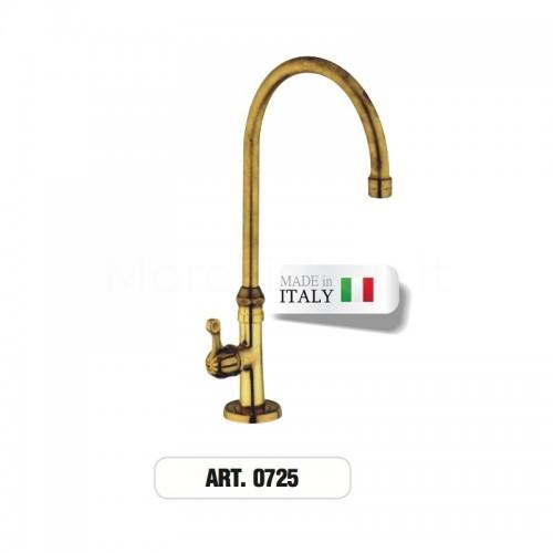 Rubinetto monoforo ottone gruppo lavabo ART.0725 Morelli