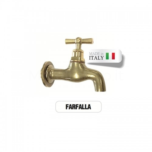 Rubinetto in ottone Mod. FARFALLA - Morelli