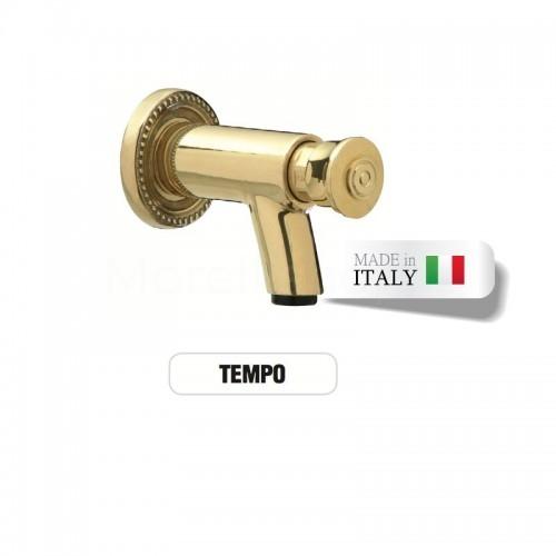 Rubinetto in ottone a premere - pressione TEMPORIZZATO - Morelli