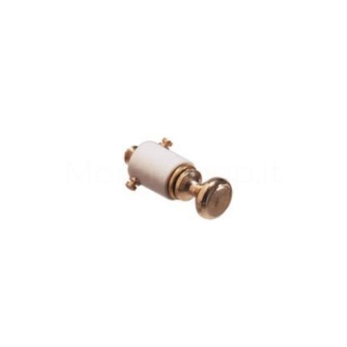 Pulsante in ottone Mod. DING per campanello ricambio originale Morelli