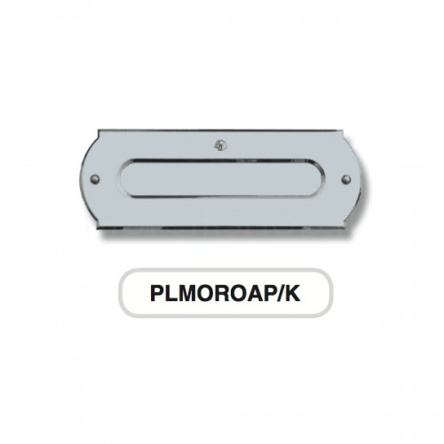 Asola per cassetta postale cromosatinato Mod. PLMOROAP/K Morelli