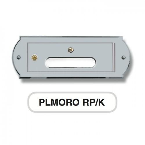 Sportello ritiro per cassetta postale cromosatinato Mod. PLMORORP/K Morelli