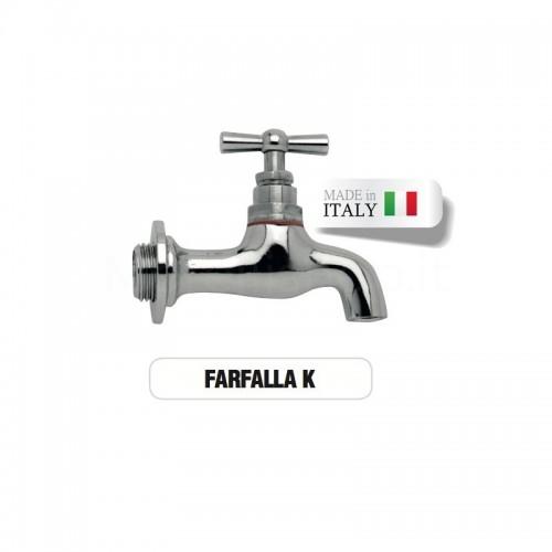 Rubinetto cromato lucido FARFALLA Morelli
