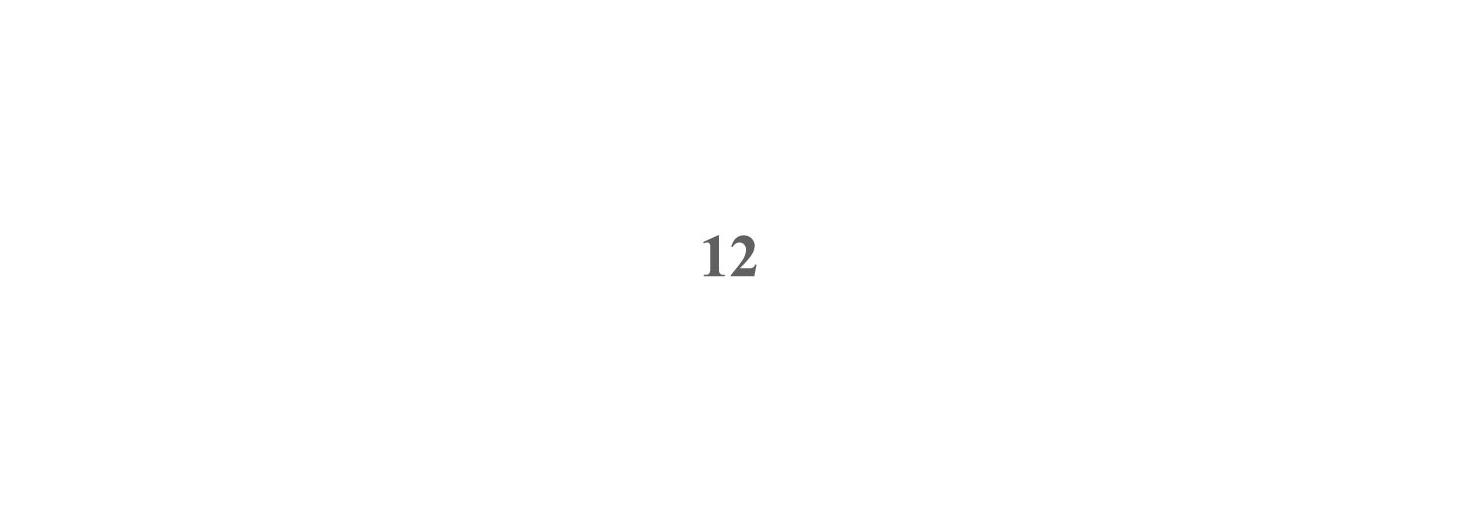 Pulsantiera da 12 Nomi